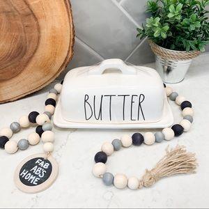 Rae Dunn Ceramic BUTTER Butter Dish